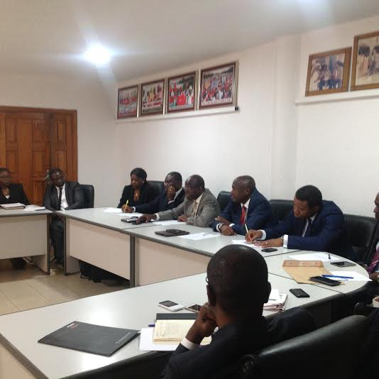 NECA/NLC MEETING ON IR MATTERS IN THE BANKING SECTOR