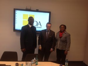 Courtesy visit to the Confederation of German Employers