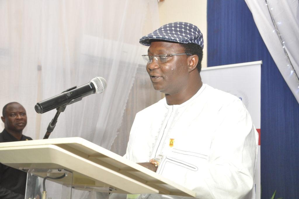 Comrade Ayuba Waba, President, NLC during his Goodwill Address