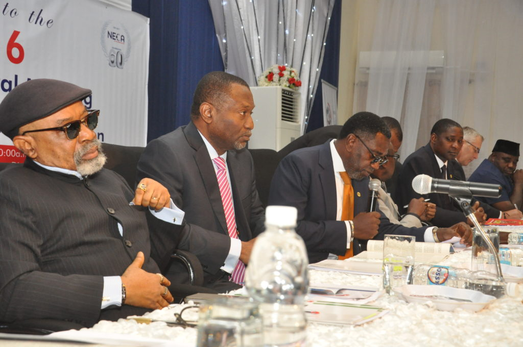 Cross Section of Invited guest at the High Table