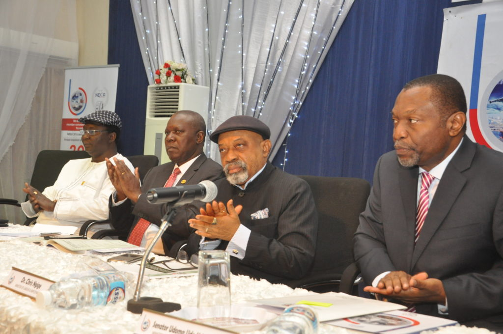 Cross Section of dignitaries at the high table
