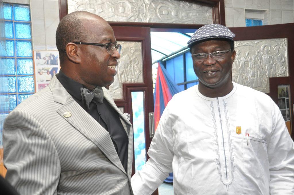 DG, NECA and Comrade Ayuba Waba, President, NLC