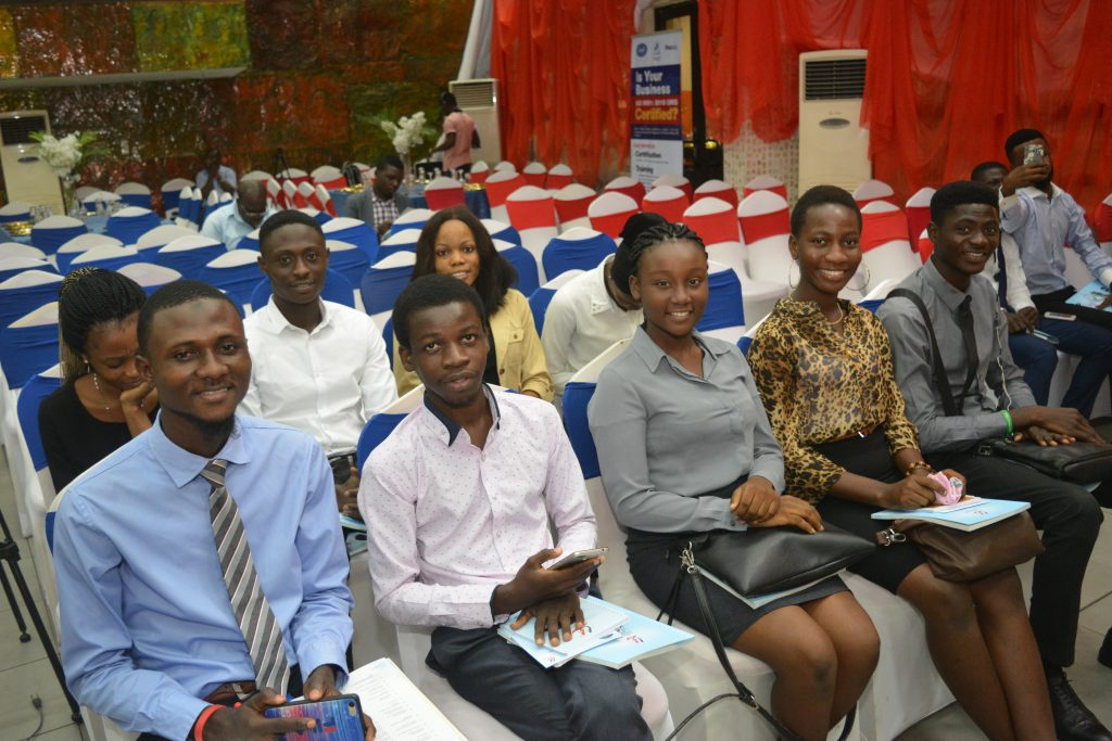 Cross section of guests at the AGM